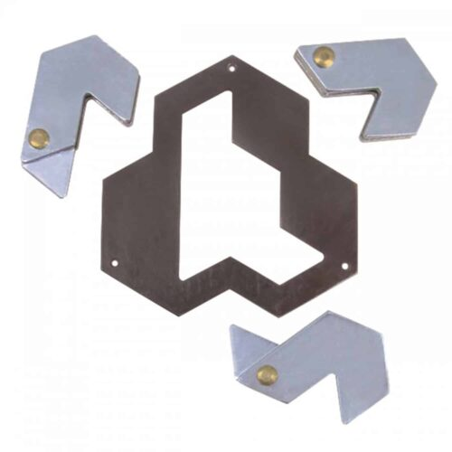 Puzzleportal hanayama cast hexagon 2