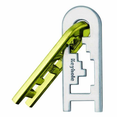 Puzzleportal hanayama cast keyhole 1